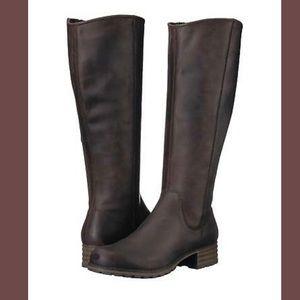 Clark's Marana Trudy Dark Brown Leather Boots